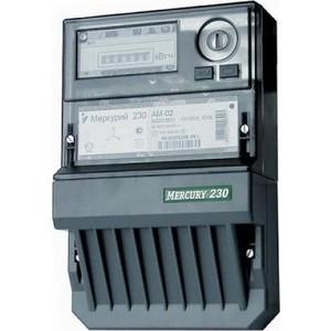 Счетчик электрической энергии Инкотекс Меркурий 230 АМ-02 3ф 10-100А 1 класс точности 1 тарифный импульсный выход механическое винт (34804) тарифный план