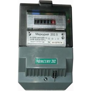 Счетчик электрической энергии Инкотекс Меркурий 202.5 1ф 5-60А 1 класс точности тарифный на щит импульный выход механический (34798)