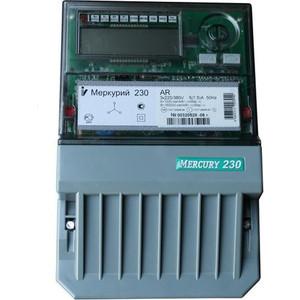 Счетчик электрической энергии Инкотекс Меркурий 230 AR-03 R 3ф 5-7.5А 0.5s/1.0 класс точности 1 тарифный оптопорт RS485 ЖКИ (32439) тарифный план