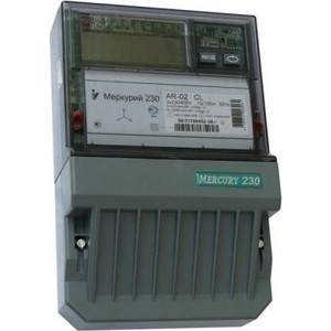 Счетчик электрической энергии Инкотекс Меркурий 230 AR-02 R 3ф 10-100А 1.0/2.0 класс точности 1 тарифный RS485 ЖКИ винт (32438)