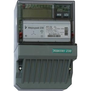 Счетчик электрической энергии Инкотекс Меркурий 230 AR-02 CL 3ф 10-100А 1.0/2.0 класс точности 1 тарифный CAN PLCI ЖКИ (32441) тарифный план