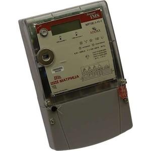 Счетчик электрической энергии Матрица NP 73E.1-11-1 FSK (100 бит/с) 43.49кГц 3ф 5-80А 0.5S/1.0 класс точности многотарифный PLC оптопорт (00-00014730)