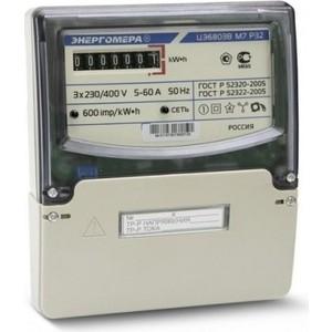 Счетчик электрической энергии Энергомера ЦЭ6803В 1 3ф 5-60А 230В 1 класс точности 1 тарифный 4пр М7Р32 щиток или DIN - рейка (101003001011073) тарифный план