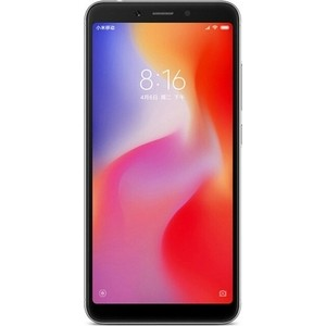Смартфон Xiaomi Redmi 6 3/64GB Black смартфон xiaomi redmi s2 4gb 64gb золотой
