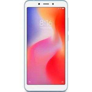 Смартфон Xiaomi Redmi 6 3/64GB Blue смартфон xiaomi redmi 5 plus 64gb black