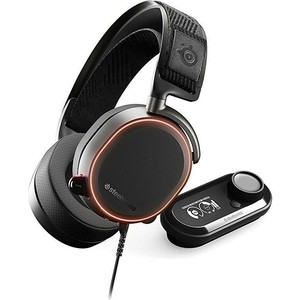 Игровые наушники SteelSeries Arctis Pro GameDAC black (61453) steelseries arctis 7 2019 edition black