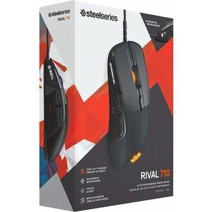лучшая цена Игровая мышь SteelSeries Rival 710 black