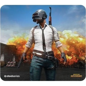 Коврик для мыши SteelSeries QcK+ PUBG Erangel Edition