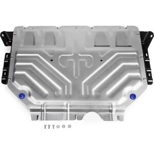 Защита картера и КПП Rival для Volkswagen Tiguan (2017-н.в.), алюминий 4 мм, 333.5120.2 цена