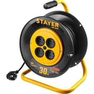 Удлинитель Stayer на катушке MS 207, 30м (55073-30z01)