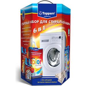 Topperr Стартовый набор для стиральных машин (3209) аксессуар антивибрационные подставки для стиральных машин и холодильников topperr 32011