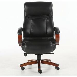 Кресло офисное Brabix Infinity EX-707 дерево/натуральная кожа, черное 531826