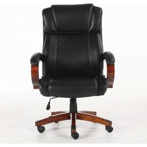 Кресло офисное Brabix Magnum EX-701 дерево/рециклированная кожа, черное 531827 кресло офисное brabix space ex 508 цвет коричневый 531164