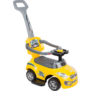 цена Каталка Leader Kids цвет жёлтый (GL000076320) онлайн в 2017 году