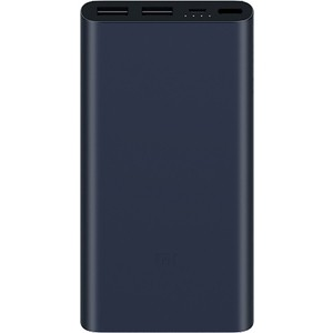 Внешний аккумулятор Xiaomi Mi Power Bank 2S 10000mAh Black portable 5600mah power source bank w 1 led flashlight for iphone htc samsung more black