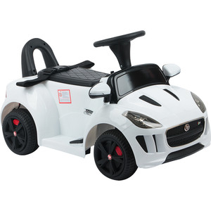 Электромобиль Wickes 3-8 лет DMD-238 WHITE Jaguar F-Type Convertible белый (GL000890423)