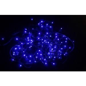 Neon-Night Гирлянда Твинкл Лайт 10 м, черный ПВХ, 100 диодов, цвет голубой