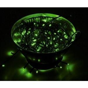 Neon-Night Гирлянда Твинкл Лайт 10 м, черный ПВХ, 100 диодов, цвет зеленый цена