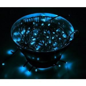 Neon-Night Гирлянда Твинкл Лайт 10 м, черный ПВХ, 100 диодов, цвет синий