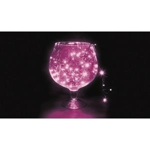 Neon-Night Гирлянда Твинкл Лайт 10 м, черный ПВХ, 100 диодов, цвет фиолетовый