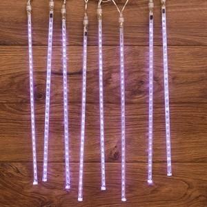 Neon-Night Гирлянда Тающие сосульки светодиодная, 8шт х 50см, шаг 40см, 24 В (с трансформатором) белые светодиоды