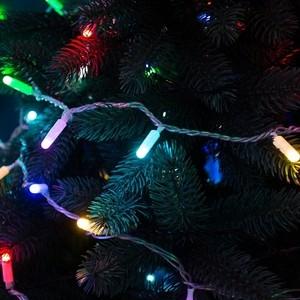 Neon-Night Гирлянда Нить 10м, 100 LED, цвет: RGB. свечение с динамикой (при использовании контроллера), 230 В