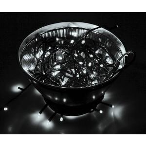 Neon-Night Гирлянда Твинкл Лайт 20 м, черный ПВХ, 200 диодов, цвет белый цена