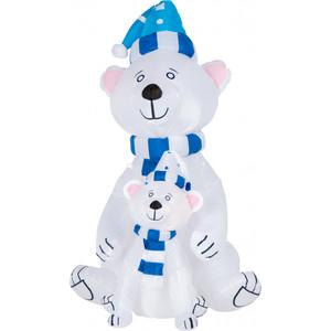 Neon-Night 3D фигура надувная Медведица с медвежонком, размер 180 см, внутренняя подсветка 2 LED, компрессор адаптером 12В, IP 65
