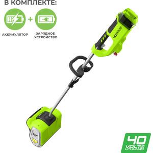 цена на Снегоуборщик GreenWorks GD40SSK4