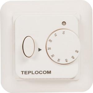 лучшая цена Встраиваемый термостат для электрического теплого пола Teplocom TSF-220/16A (919)