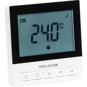 Встраиваемый термостат для электрического теплого пола Teplocom TSF-Prog-220/16A (921)