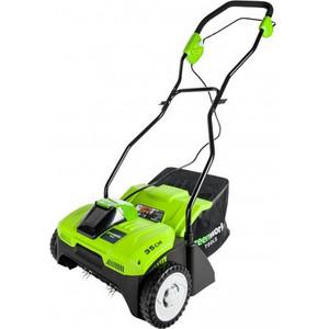 Аэратор аккумуляторный GreenWorks 2504807 аккумуляторный шуруповерт greenworks 24v 3802207