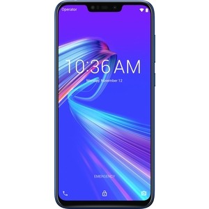 Смартфон Asus Zenfone Max (M2) ZB633KL 3/32GB Blue смартфон asus zenfone 5 ze620kl 4 64gb midnight blue
