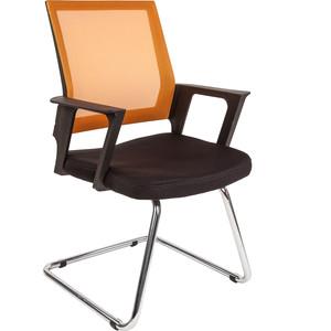 Офисное кресло Русские кресла РК 15V оранжевое хром кресло конф ц 811 кожзам черный хром 620978 шатура oфисные кресла