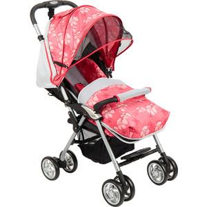 Коляска прогулочная Corol S-12 СЕР КРАСНЦВЕТЫ GL000531325 коляска прогулочная corol s 3 красный gl000718920
