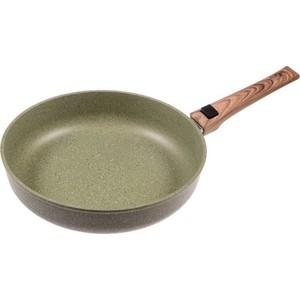 Сковорода со съёмной ручкой d 24 см Panairo Oliverstone (O-24-G-S) сковорода со съёмной ручкой d 22 см panairo lordom lo 22 g s