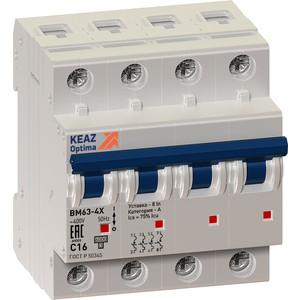 Выключатель автоматический КЭАЗ 4п 40А OptiDin BM63 Р УХЛ3 (103897)