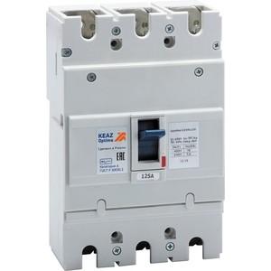 Выключатель автоматический КЭАЗ OptiMat E250L125 УХЛ3 (100009)