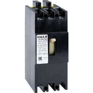Выключатель автоматический КЭАЗ АЕ2046-100 31.5А 12In 400AC УЗ (104225)