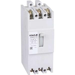 Выключатель автоматический КЭАЗ АЕ2066М1-100 160А 10In 400AC УЗ (104544) добавка 160а