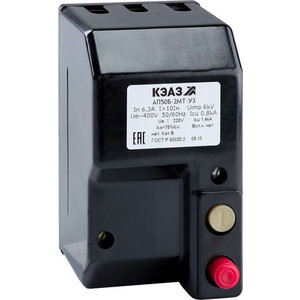 Выключатель автоматический КЭАЗ АП50Б 2МТ 40А 10In 400AC/220DC У3 (106914)