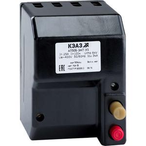 Выключатель автоматический КЭАЗ АП50Б 3МТ 10А 10In 400AC У3 (107261) автоматический выключатель sh202l 2p 10а с 4 5ка