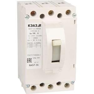 Выключатель автоматический КЭАЗ ВА57-31-340010 100А 1200Im 690AC УХЛ3 (108427) выключатель автоматический курскэаз ва51 35м1 340010 100а 690ac ухл3 108310 146749