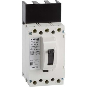 Выключатель автоматический КЭАЗ ВА57-31-340010 16А 400Im 690AC УХЛ3 (108430) выключатель автоматический курскэаз ва51 35м1 340010 100а 690ac ухл3 108310 146749