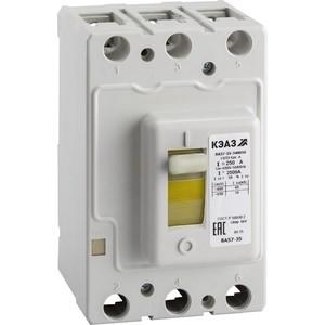 Выключатель автоматический дифференциального тока КЭАЗ ВА57-35-340010 250А 2500Im 690AC УХЛ3 (108600) выключатель автоматический курскэаз ва51 35м1 340010 100а 690ac ухл3 108310 146749
