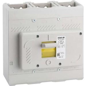 Выключатель автоматический дифференциального тока КЭАЗ ВА57-39-340010 400А 4000Im 690AC УХЛ3 (109883) выключатель автоматический курскэаз ва51 35м1 340010 100а 690ac ухл3 108310 146749