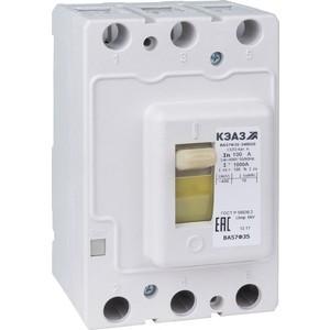 цена Выключатель нагрузки модульный КЭАЗ ВА57Ф35-340010 80А 800Im 400AC УХЛ3 (109344) онлайн в 2017 году