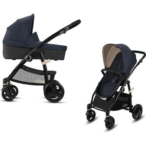 Коляска 2 в 1 CBX by Cybex Leotie Pure Jeansy Blue (518001663)