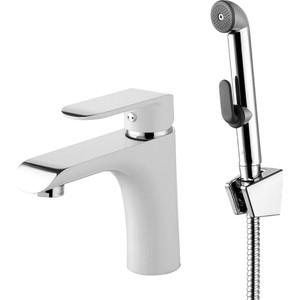 Смеситель для раковины IDDIS Calipso с гигиеническим душем (CALSB00i08) смеситель для раковины с гигиеническим душем iddis carlow plus crpsb00i08