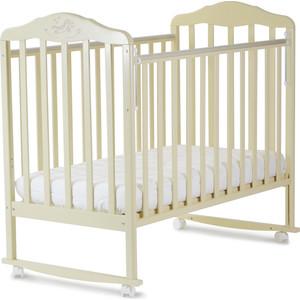 Кроватка Malika Зебра бежевый 210119 (АБ 16 1)
